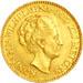 Dutch queen gold coin