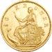 Mermaid gold coin