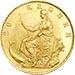 Denmark gold coin