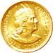 Peruvian gold coin