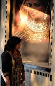 золотые украшения в Индии