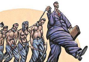 Ростовщики загоняют людей в финансовое рабство